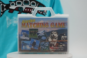 Alaska Memory Game with Carrying Case