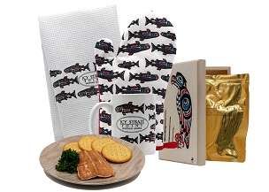 Icy Strait Point Kitchen Collection with Smoked Salmon